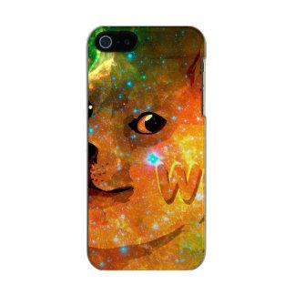 Capa Metálica Para iPhone SE/5/5s espaço - doge - shibe - uau doge