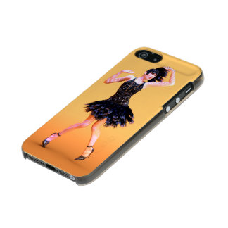 Capa Metálica Para iPhone SE/5/5s flapper16_orange_pod