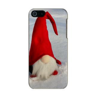 Capa Metálica Para iPhone SE/5/5s Gnomo escandinavo do Natal