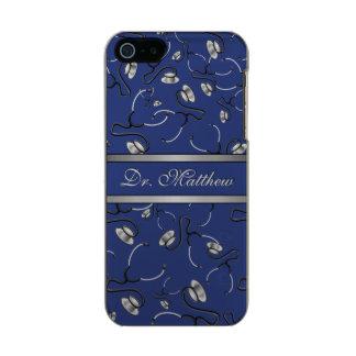 Capa Metálica Para iPhone SE/5/5s Médico, enfermeira, medique estetoscópios