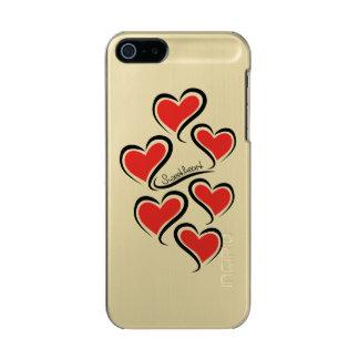 Capa Metálica Para iPhone SE/5/5s Meus namorados do querido