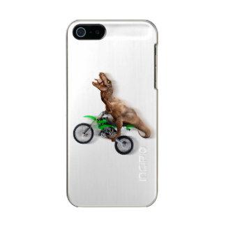 Capa Metálica Para iPhone SE/5/5s Motocicleta do rex de T - passeio do rex de t -