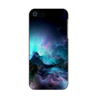 Capa Metálica Para iPhone SE/5/5s Oceano tormentoso irreal