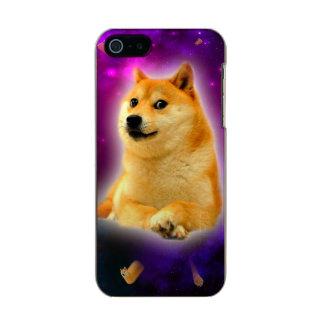 Capa Metálica Para iPhone SE/5/5s pão - doge - shibe - espaço - uau doge