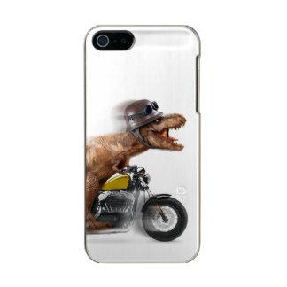 Capa Metálica Para iPhone SE/5/5s Rex dos motocicleta-tiranossauros-t do rex de T -