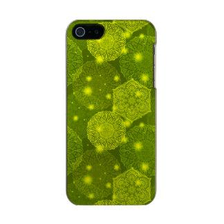 Capa Metálica Para iPhone SE/5/5s Teste padrão luxuoso floral da mandala