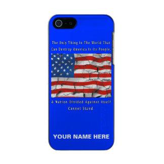 Capa Metálica Para iPhone SE/5/5s Uma nação dividida