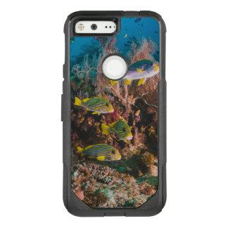 Capa OtterBox Commuter Para Google Pixel Capas de telefone do recife de corais