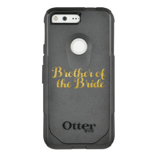 Capa OtterBox Commuter Para Google Pixel Irmão do ouro da noiva