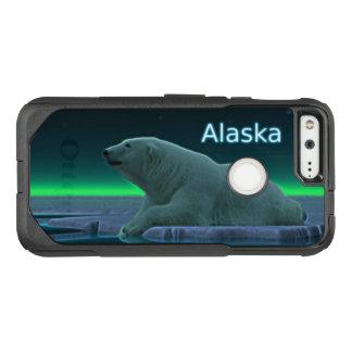 Capa OtterBox Commuter Para Google Pixel Urso polar da borda do gelo - Alaska