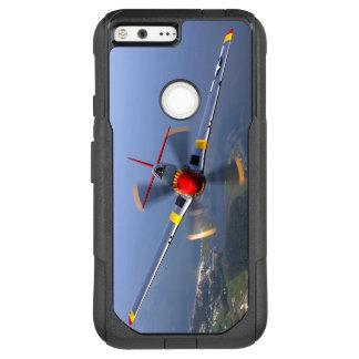 Capa OtterBox Commuter Para Google Pixel XL Aviões de lutador do mustang P-51