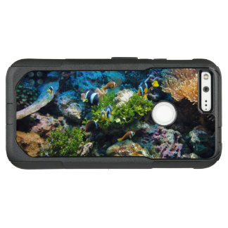 Capa OtterBox Commuter Para Google Pixel XL Capas de telefone do recife de corais