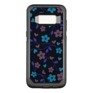 Capa OtterBox Commuter Para Samsung Galaxy S8 415D floral bonito (i)