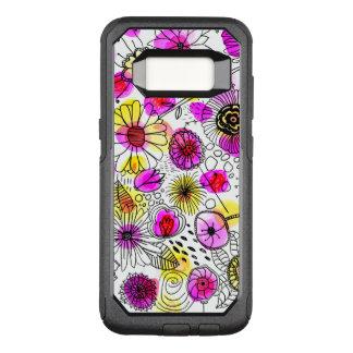 Capa OtterBox Commuter Para Samsung Galaxy S8 A capa de telefone brilhante do tufo do material