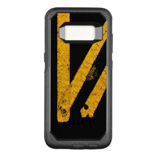 Capa OtterBox Commuter Para Samsung Galaxy S8 A marcação do tráfego rodoviário do pavimento