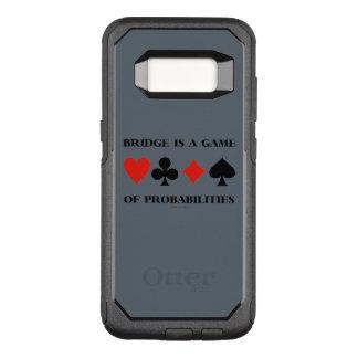 Capa OtterBox Commuter Para Samsung Galaxy S8 A ponte é um jogo de ternos do cartão das