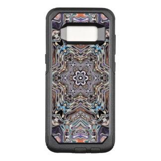 Capa OtterBox Commuter Para Samsung Galaxy S8 A terra tonifica o teste padrão