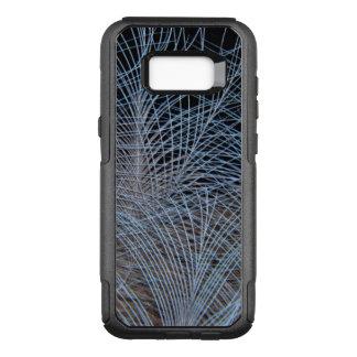 Capa OtterBox Commuter Para Samsung Galaxy S8+ Abstrato cinzento da pena