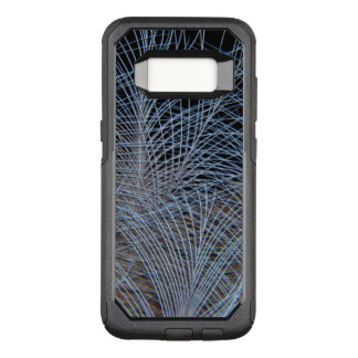 Capa OtterBox Commuter Para Samsung Galaxy S8 Abstrato cinzento da pena
