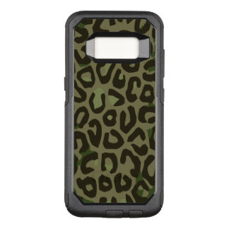 Capa OtterBox Commuter Para Samsung Galaxy S8 Abstrato da chita da camuflagem