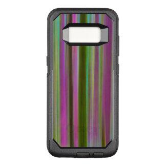 Capa OtterBox Commuter Para Samsung Galaxy S8 Abstrato da floresta tropical de Hoh no crepúsculo