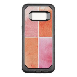 Capa OtterBox Commuter Para Samsung Galaxy S8 aguarela colorida