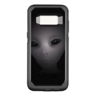Capa OtterBox Commuter Para Samsung Galaxy S8 Alienígena preta misteriosa