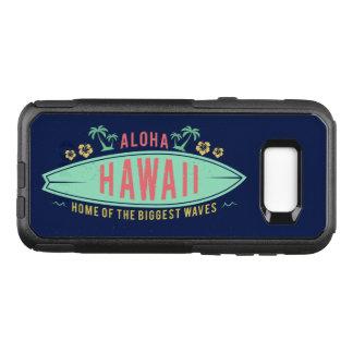 Capa OtterBox Commuter Para Samsung Galaxy S8+ Aloha capas de telefone havaianas do surfista