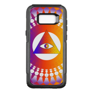 Capa OtterBox Commuter Para Samsung Galaxy S8+ Alternativo do olho de Illuminati