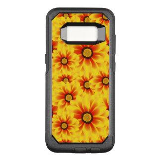 Capa OtterBox Commuter Para Samsung Galaxy S8 Amarelo colorido do teste padrão do verão tickseed