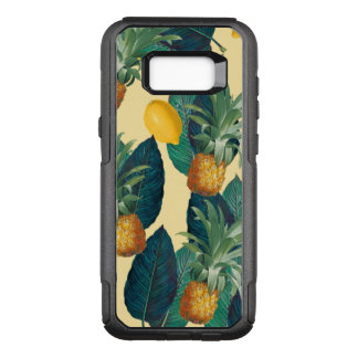 Capa OtterBox Commuter Para Samsung Galaxy S8+ amarelo dos limões dos abacaxis