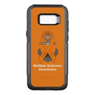 Capa OtterBox Commuter Para Samsung Galaxy S8+ Âncora da esclerose múltipla da esperança