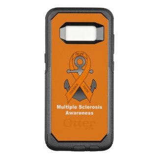 Capa OtterBox Commuter Para Samsung Galaxy S8 Âncora da esclerose múltipla da esperança
