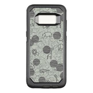 Capa OtterBox Commuter Para Samsung Galaxy S8 animais 1 do safari