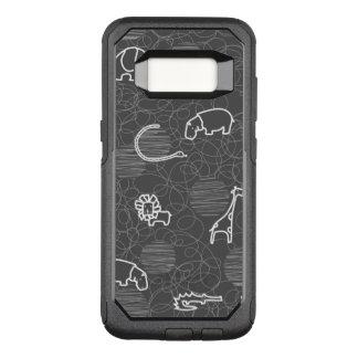 Capa OtterBox Commuter Para Samsung Galaxy S8 animais 5 do safari