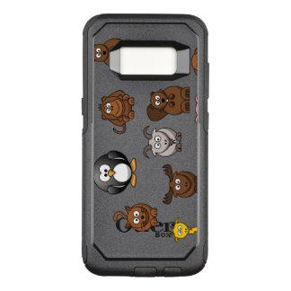 Capa OtterBox Commuter Para Samsung Galaxy S8 Animais do jardim zoológico