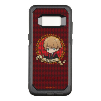 Capa OtterBox Commuter Para Samsung Galaxy S8 Anime Ron Weasley
