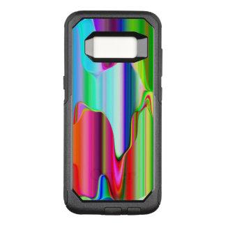 Capa OtterBox Commuter Para Samsung Galaxy S8 Arco-íris de derretimento