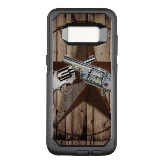 Capa OtterBox Commuter Para Samsung Galaxy S8 arma dupla rústica do país ocidental do vaqueiro