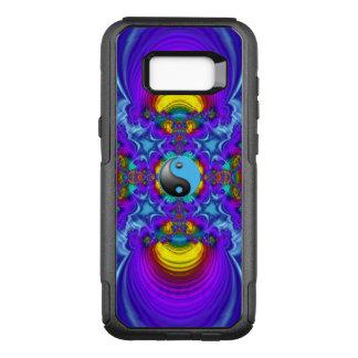 Capa OtterBox Commuter Para Samsung Galaxy S8+ Arte 103 do Fractal