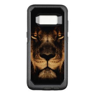 Capa OtterBox Commuter Para Samsung Galaxy S8 Arte africana da cara do leão