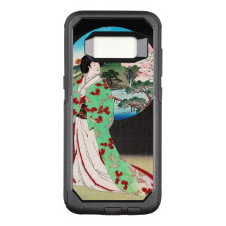 Capa OtterBox Commuter Para Samsung Galaxy S8 Arte clássica japonesa oriental legal da senhora