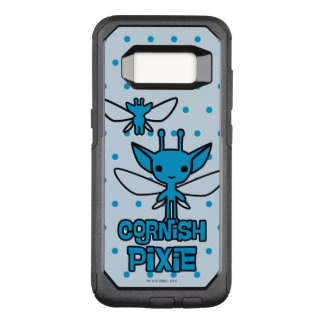 Capa OtterBox Commuter Para Samsung Galaxy S8 Arte Cornish do caráter do duende dos desenhos