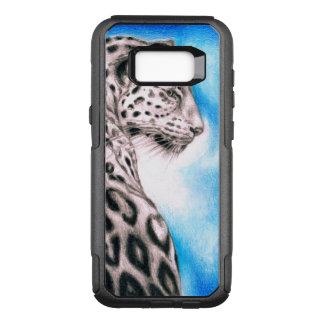 Capa OtterBox Commuter Para Samsung Galaxy S8+ Arte de Jaguar