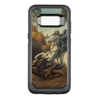 Capa OtterBox Commuter Para Samsung Galaxy S8 Arte de renascimento St George e dragão