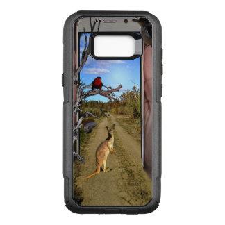 Capa OtterBox Commuter Para Samsung Galaxy S8+ Austrália através de um telefone móvel,