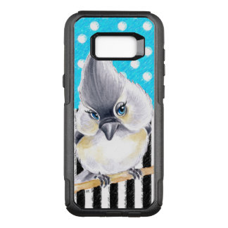 Capa OtterBox Commuter Para Samsung Galaxy S8+ Azul da polca do Titmouse