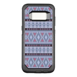 Capa OtterBox Commuter Para Samsung Galaxy S8 azul tribal extravagante do teste padrão (i)