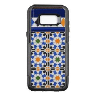 Capa OtterBox Commuter Para Samsung Galaxy S8+ Azulejos de Granada