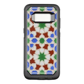 Capa OtterBox Commuter Para Samsung Galaxy S8 Azulejos de Granada